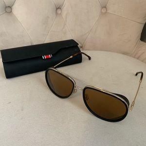 Carrera Black aviator sunglasses